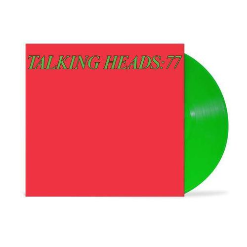 Talking Heads - 77 limited Edition (transparent green Vinyl)